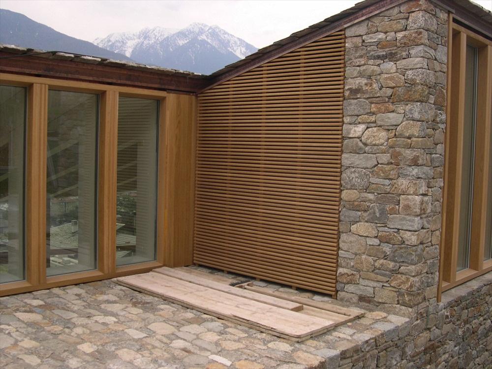 Rivestimento Casa In Legno : Rivestimento esterno legno