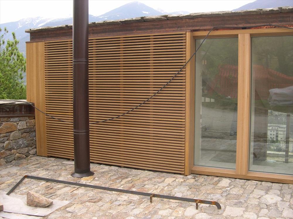 Rivestimento Esterno In Legno Per Case : Tetti case e strutture in legno